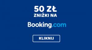 50 zł zniżki na booking.com