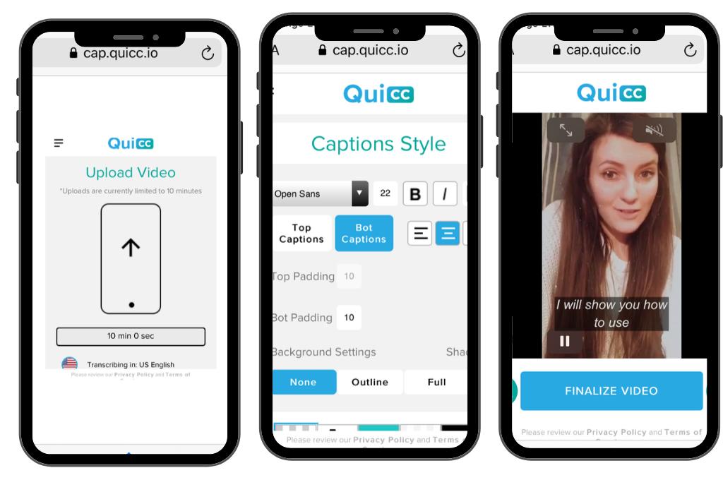 warawwanderer.pl - QuiCC App - 8 aplikacji z którymi dodasz napisy do Instastories